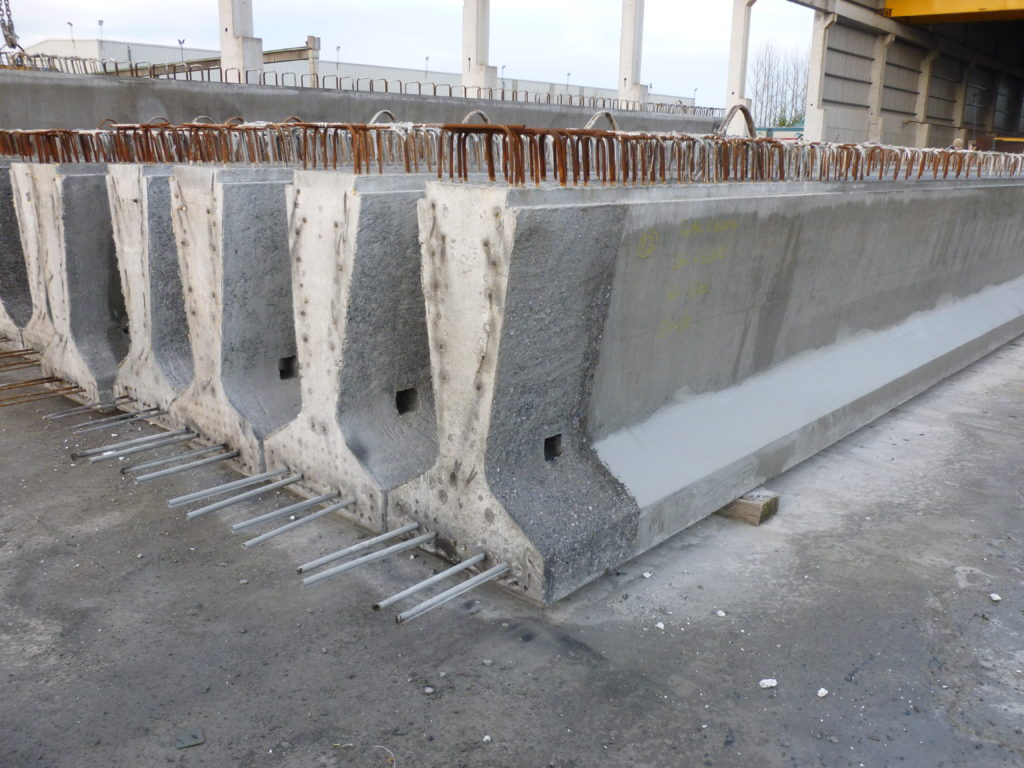 Bridge Beams | Products by Banagher Precast Concrete | UK & IRE