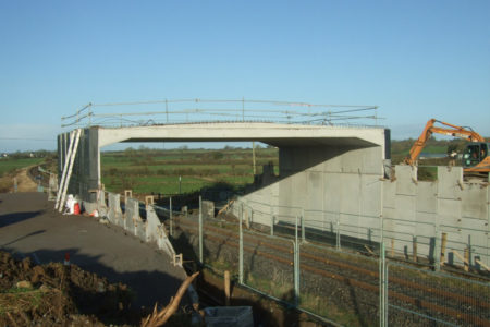 Railway Overbridge Banagher Precast Concrete